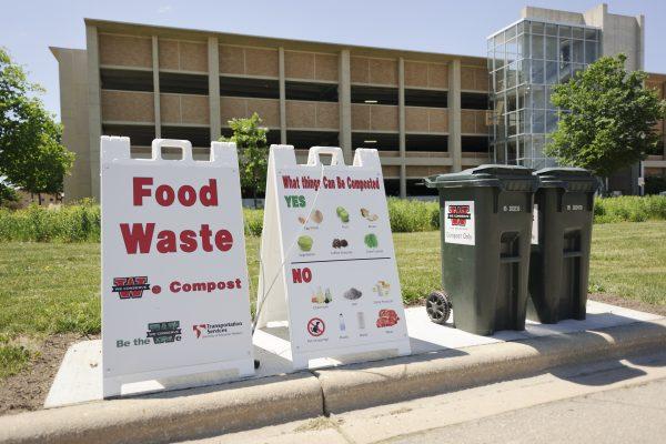 Food compost drop off site